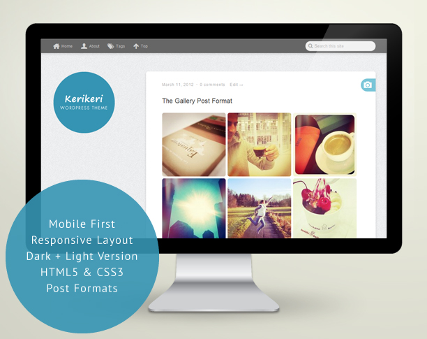 Premium mobile-first, responsive WordPress Theme Kerikeri