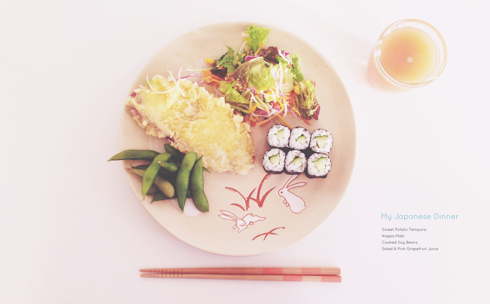 My Japanese Dinner