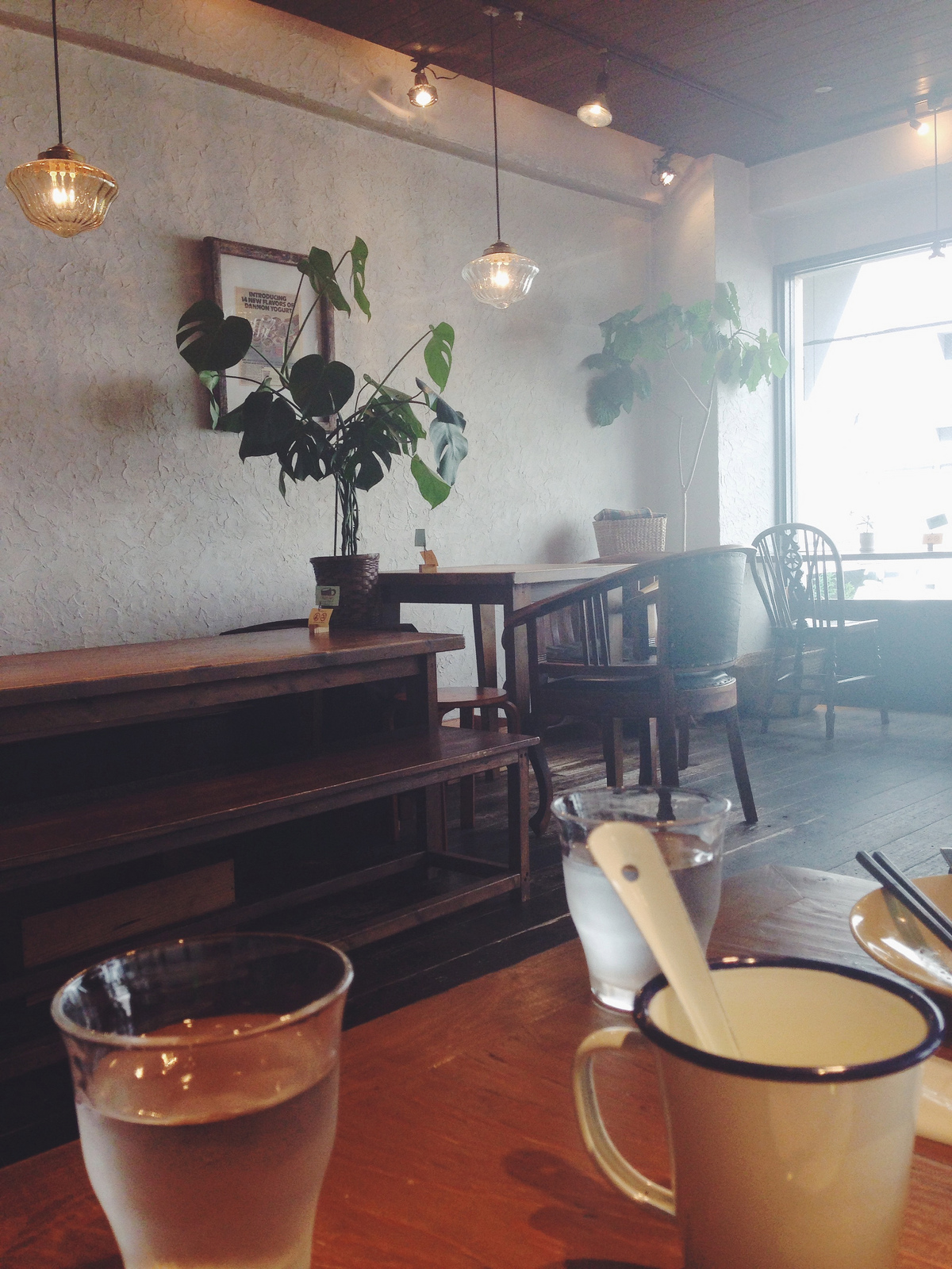 Cute little Café Jinta in Kyoto