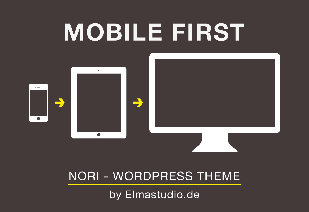 Nori mobile-first WordPress theme