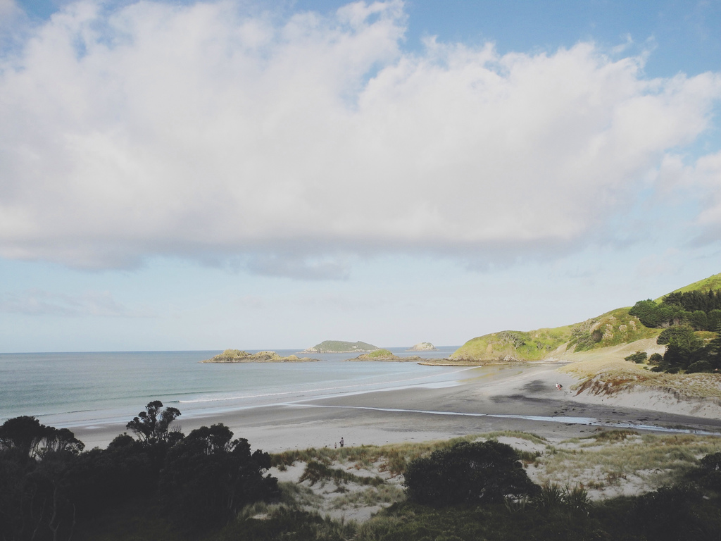 What a beautiful beach setting in Northland, New Zealand.