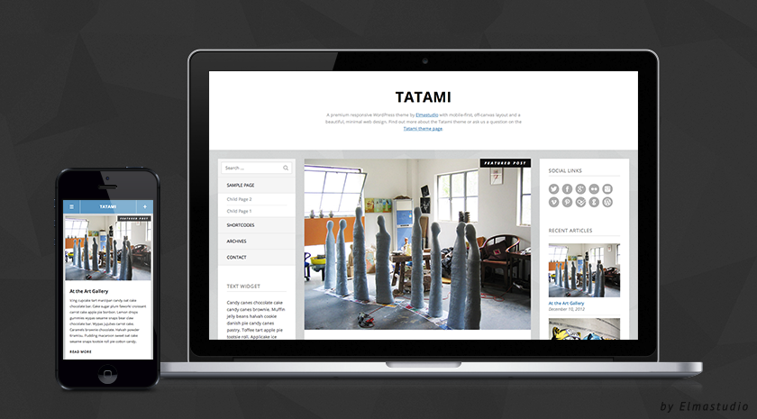 Tatami Premium WordPress Theme