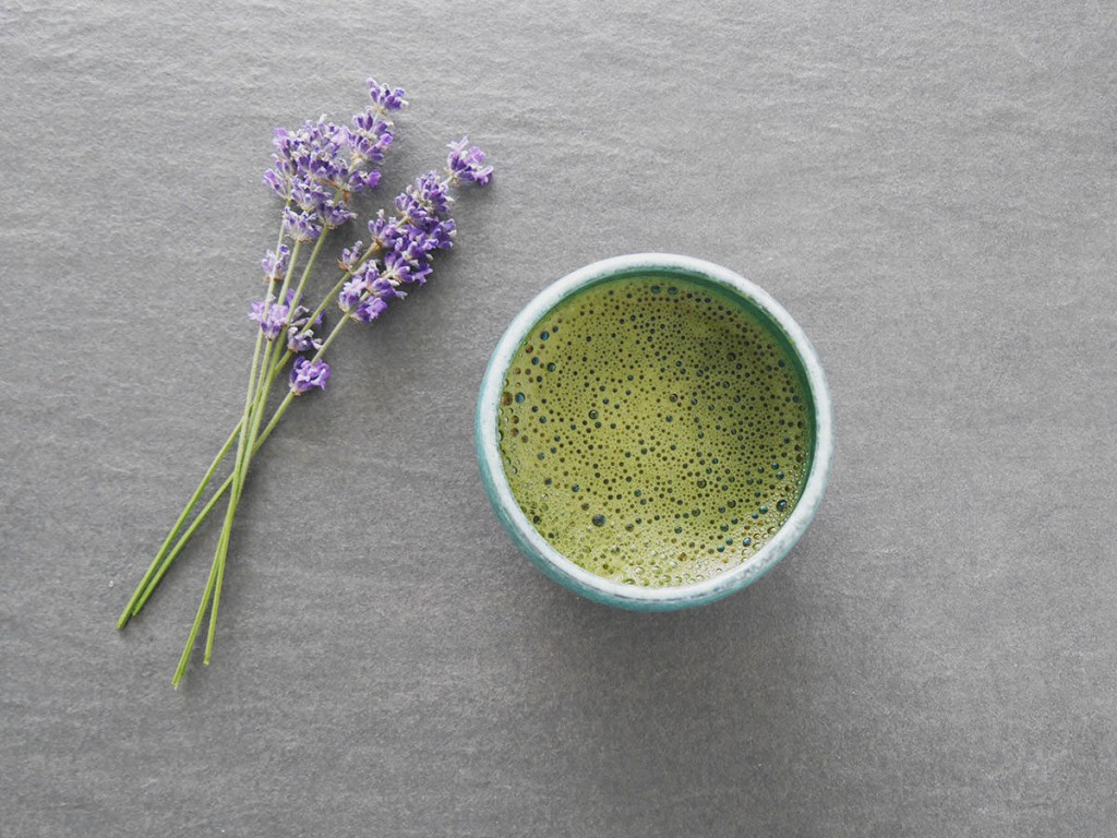 Take time and drink a beautiful, delicious cup of Matcha tea :)